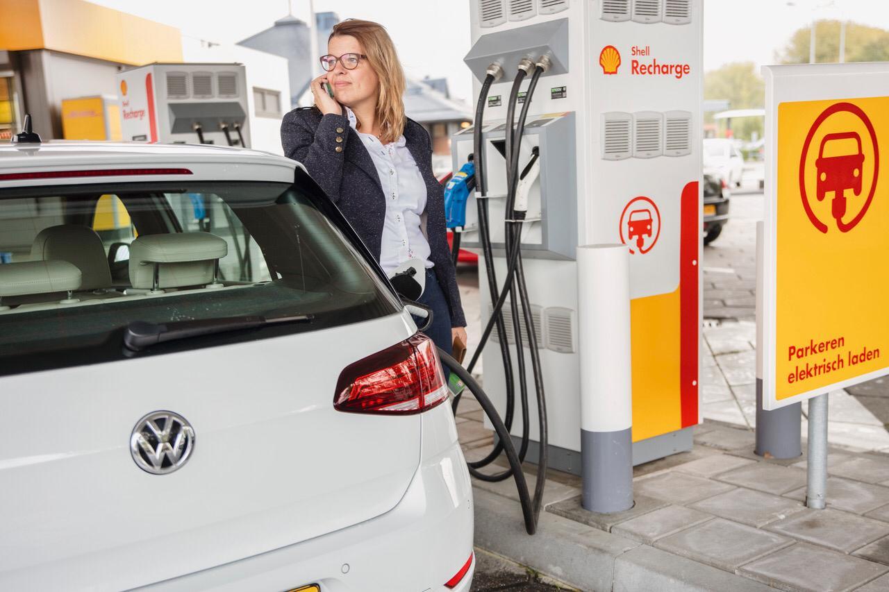 Charging at Shell